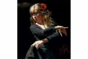 Aros Rojos painting