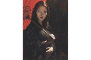 Michiko III painting