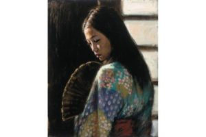 Study for Japanese Girl II painting