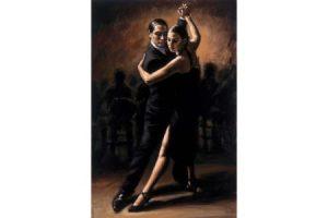 Tango VI painting