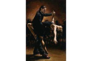Tango VII painting