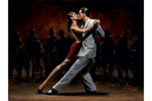 Tango in Paris II painting