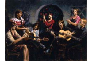 La Juerga painting