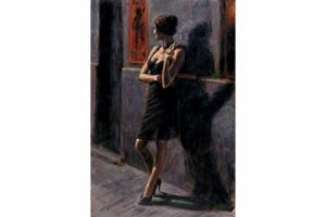 Study for Buenos Aires II painting