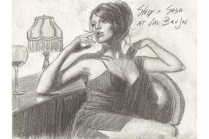 Study Saba at Las Brujas sketch