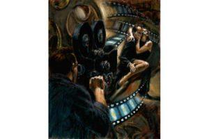 Argentine Cinema Hollywood Festival painting