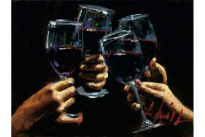 Brindis con Tinto painting
