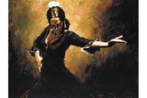 Gitana painting