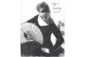 """Isabella - Pencial"""" sketch"""