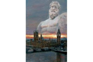 London Olympic Games 2012 painting