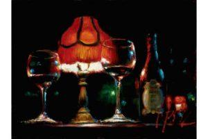 Noches de Malavida II painting