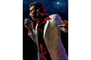 Study for Latin Grammys painting