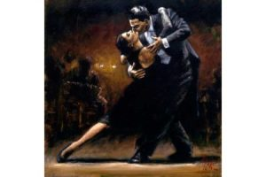 Study for Tango V painting