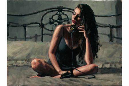 Black Phone painting