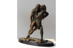 Tango sculpture
