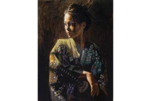 Geisha II painting