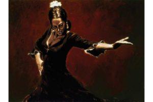 Gitana II painting