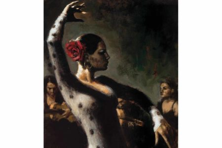 Study for Tablado Flamenco III painting