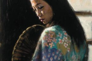 Study for Japanese Girl II