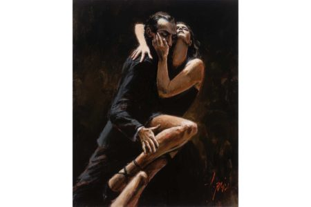 Study of Tango painting