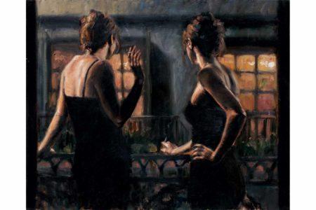Cenisientas of the Night II painting