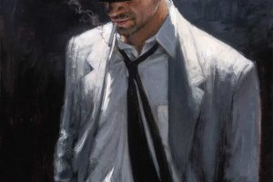 Man in White Suit IV