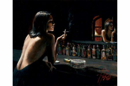 Marmol Negro painting