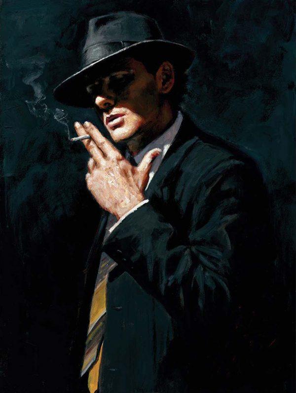 Smoking Under the Light IV