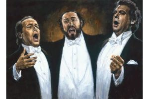 3 Tenors painting