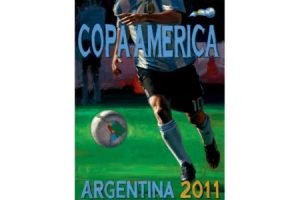 Copa America Argentina 2011 painting