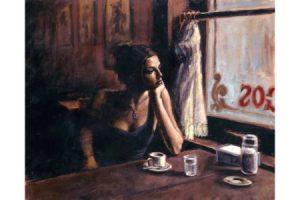 El Federal Cafe III painting