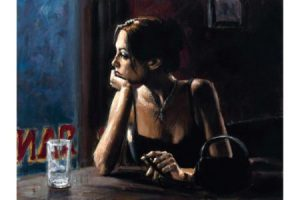 El Federal Cafe IV painting