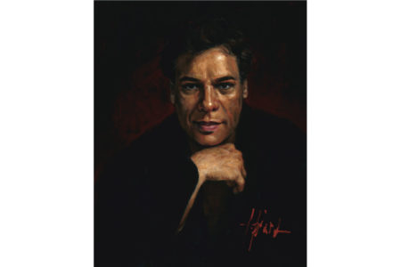 Juan Gabriel painting