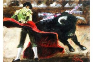 La Revolera painting