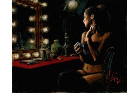 La Trastienda II painting