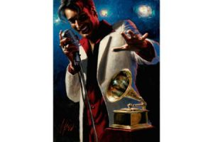Latin Grammy Awards 10th Anniversary painting