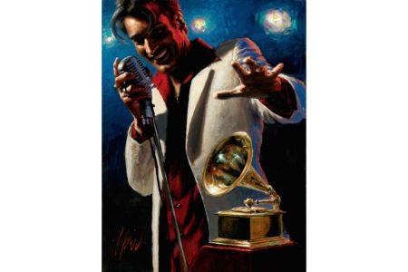 Latin Grammy Awards 10th Anniversary painting