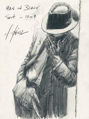 Man in Black Suit - Pencil