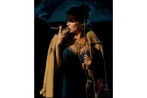 November Rain Lucy III painting