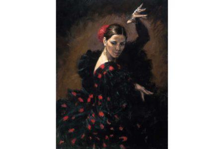 Passion Flamenca painting