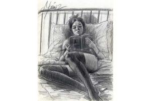 Princess Diaries - Pencil sketch