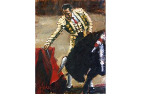 Redondo Surcido painting