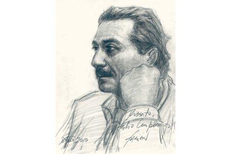 Roberto painting