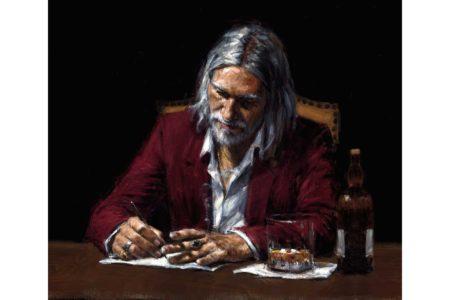 Self Portrait III painting