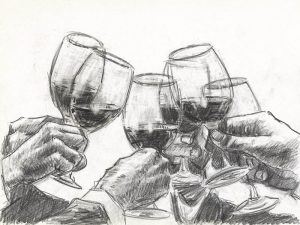 Study for A Better Life III - Pencil