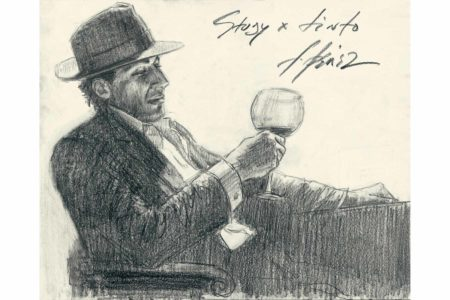 Study for Tinto - Pencil sketch