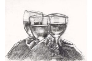 Study for a Better Life IV - Pencil sketch
