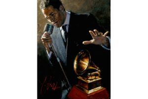 Study for the Latin Grammys painting