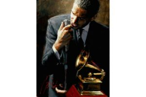 Study for the Latin Grammys II painting