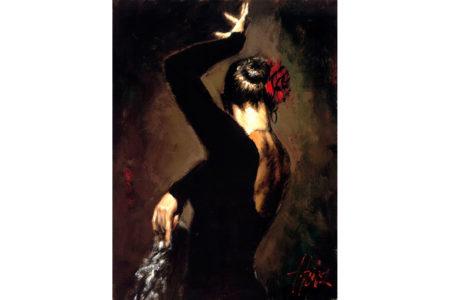 Terciopelo Negro II painting
